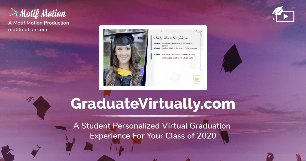 virtual graduation google ad