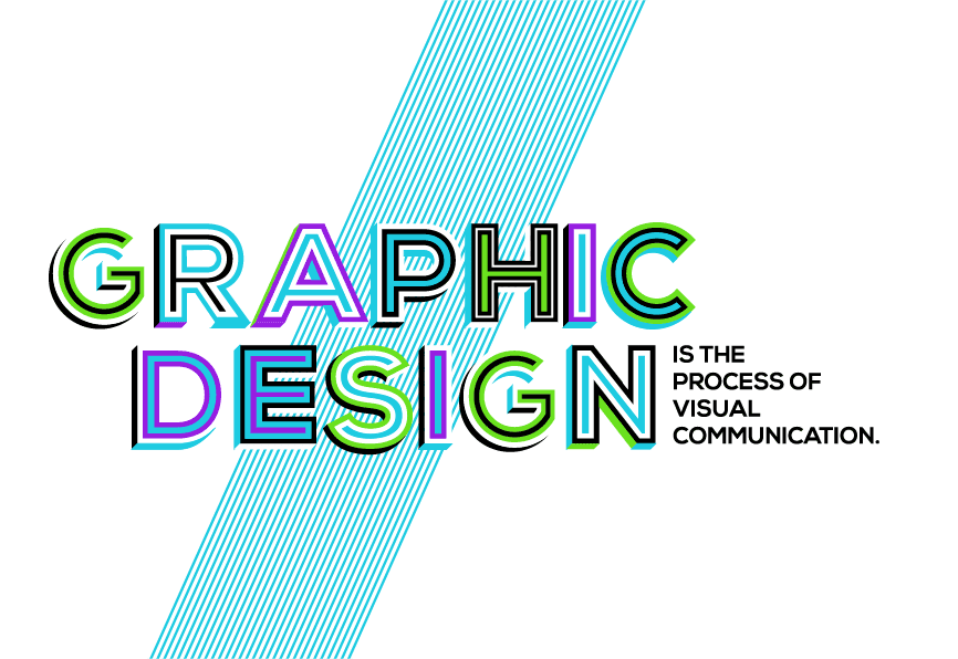 graphic design and visual identity graphic